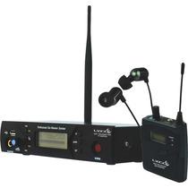 Monitor Retorno Ouvido Sem Fio Profissional Lyco Tipo Shure