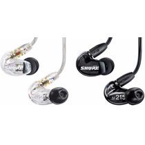 Shure Fone Se215 Ear Phone P/ Psm / Iphone Lacrado Garantia