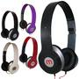 Kit 5 Fones De Ouvido Mex Beats Mix Style Headfone Mp3 Mp4