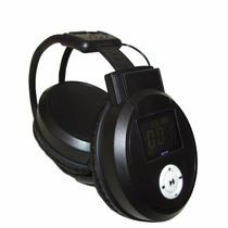 Fone De Ouvido Sem Fio Headphone Bq-168 Mp3 Com Microsd 8gb