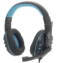 Headset Fone Ouvido Gamer C/ Microfone K4 Azul Oletech