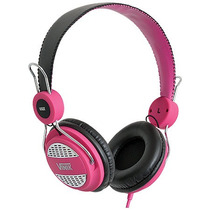 Fone Headset Rash Rosa Pink P/ Celular Mp3 Tablet Ipod Vinik