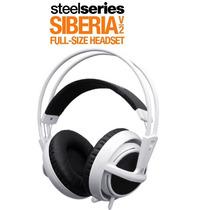 Fone Steelseries Siberia V2 Full-size * White * Original