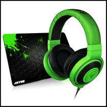 Fone Razer Kraken Green + Mousepad Jayob Grátis