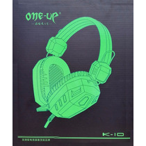 Fone De Ouvido Headset Gamer C/ Microfone Pc Notebook Usb P2