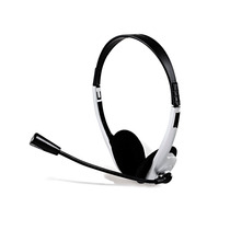 Headset Fone Ouvido + Microfone Skype Facebook Icq Lan House