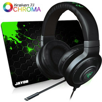 Fone Razer Kraken 7.1 Chroma Usb Headset - Ps4 - Gr 1 Ano