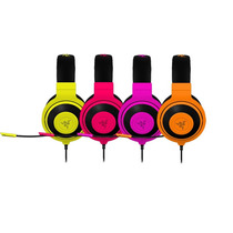 Razer Kraken Pro Neon Headset Gamer Fone Com Microfone Nf
