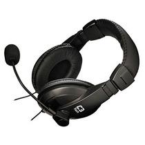 Fone De Ouvido Mic C3-tech Voicer Confort Stereo Pto
