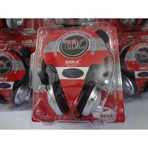 Fone De Ouvido Headset Headphone Stereo C/ Mic P/ Pc E Note