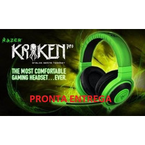 Headset Gamer Razer Kraken Pro Com Microfone- Pronta Entrega