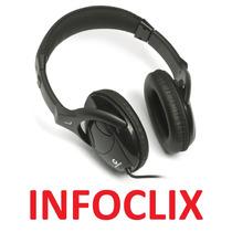 Fone Ouvido Headphone P2 Hastes Reguláveis 1751 Leadership