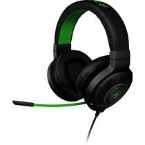 Headset Razer Kraken Pro - Fone C/ Microfone Gamer - Verde