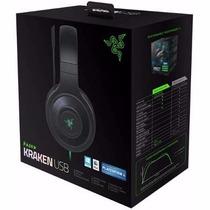 Headset Razer Kraken Usb 7.1 Surround Sound Pc Ps4 Mac