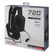 Headset Tritton 720+ 7.1 Surround Pc Xbox One Ps4 Vita Wii U