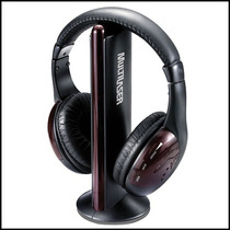 Fone Multilaser Wireless Torre Headphone Sem Fio Fm, Mp3