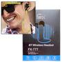 Mini Fone Ouvido Headset Bluetooth Universal Fx-777 Favix