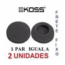 Espumas Para Reposição Fone Kos S Porta Pro Com 2 Und Id1983