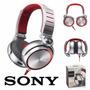Fone Sony Mdr-xb920 Prata Com Preto Lacrado - Original