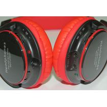 Fone De Ouvido Headphone Sem Fio Mp3 Micro Sd Rádio Fm