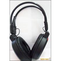 Fone Ouvido Heaphone Sem Fio Mj-168 Rádio Fm Mp3 Entrada Sd
