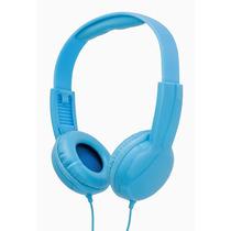 Fone De Ouvido Headphone Vivitar V12009 Infantil Azul P2 3.5