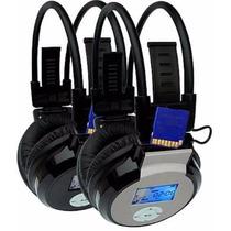 Fone De Ouvido Sem Fio Headphone Wst-860 Mp3 Entrada Sd Card