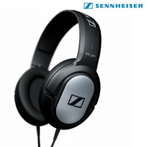 Fone De Ouvido Headphone Powerful Sound Sennheiser Hd201