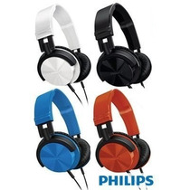 Fone Ouvido Dj Philips Over Ear Shl3000 P2 Pc Notebook Mp3