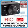 Amplificador De Fones De Ouvido Fiio E09k