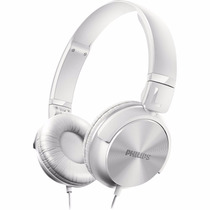 Fone Headphone Philips Dj Branco Shl3060 P2 Mp3 Pc Cabo 1,2m