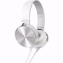Fone De Ouvido Sony Headphone Mdr-xb450ap Extra Bass Plug P2