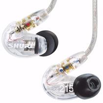 Shure Se215 Dynamic Microdriver Earphone Fone De Ouvido