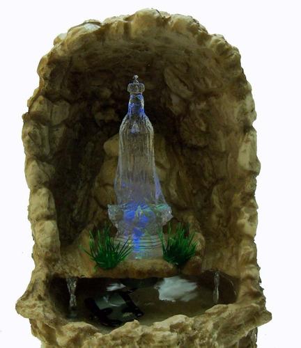 Fonte Agua Cascata Gruta Nossa Senhora Fatima Linda...