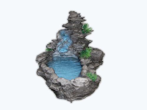 Fonte Agua Tipo Laguinho Pedra Compre Em Até 12x.