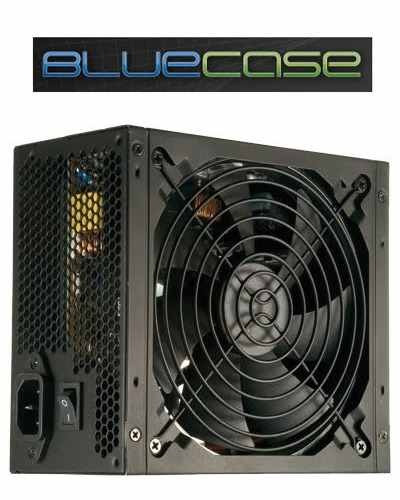 Fonte Atx Bluecase 500w Reais 24 Pinos + Pci-e + 2 Sata + Nf
