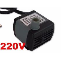 Motor Bomba Submersa Para Fonte De Água Ou Aquário 220v