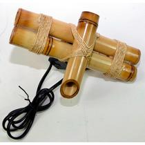 Bica Dagua Bambu Monte Você Mesmo + Bombinha