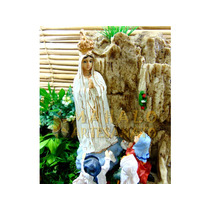 Nossa Senhora De Fátima Fonte Água 3 Pastorinhos Religiosa