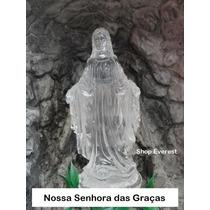 Fonte De Água Decorativa Gruta, Nossa Senhora Das Graças.