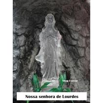 Fonte De Água Decorativa Gruta Nossa Senhora De Lourdes.