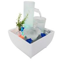 Fonte De Agua Com Cascata E Quedas De Agua Decorativa