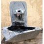 Fonte De Água Artística - Chafariz Em Pedra Sabão - Cristal