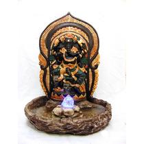 Fonte Ganesha Estatua Bola Luz Deusa Indiano Imagem 61 Cm