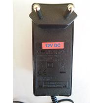 Fonte 12v 2,5a Cftv, Roteador, Monitor, Modem, Tv Lcd, Radio