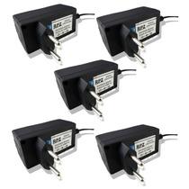 Fonte Estabilizada 5v 2a Plug 4,0 X 1,64 Kit 5 Pc Atacado