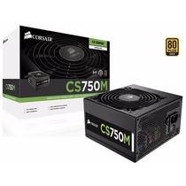 Fonte Corsair 750w Modular Cs750m - Cp-9020078-ww