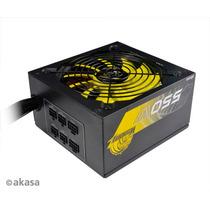 Fonte Real 550 W Akasa Venom 80plus Pfc Ativo Modular Atx