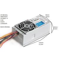 N12020 Fonte Hp Slimline Seasonic Dell Ibm Hp 4 Sata 300w
