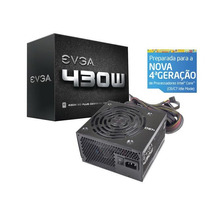 Fonte Evga 430w Real 80 Plus White 100-w1-0430-kr